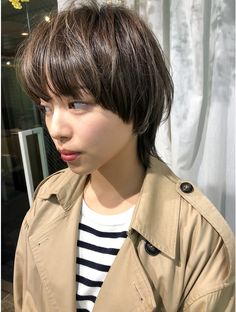 Super Short Hair, Girl Short Hair, Short Girls, Salon Style, Asian Hair, Good Hair Day, Hair Inspo, Salons, Cool Hairstyles
