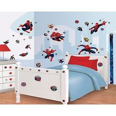 Muursticker Spiderman Decor Kit