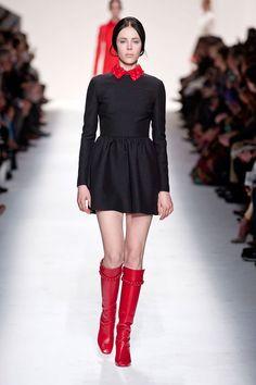 Warholstars. 60's are back. Mini skirts, knee boots, turtlenecks...