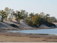 Dunes Beach at Sandbanks Provincial Park in Prince Edward County, Ontario