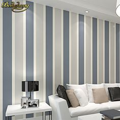 ==> [Free Shipping] Buy Best beibehang Modern fashion Luxury Vertical stripes Glitter Non-woven wall paper Roll Home Decoration silver Coffee Grey Golden Online with LOWEST Price | 32793673569