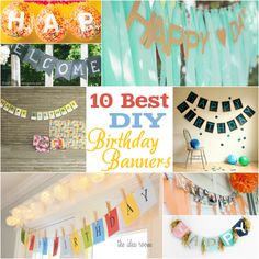 10 Best DIY Birthday