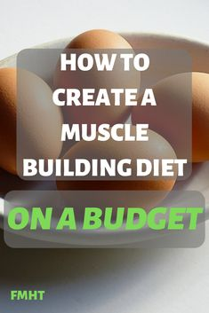 Here is some great advice on how to build a muscle building diet when you are on a budget. Even if you are not on a budget this advice will help you build muscle Nutrition Program, Nutrition Plans, Nutrition Education, Diet And Nutrition, Muscle Fitness, Gain Muscle, Build Muscle, Fitness Diet, Muscle Men