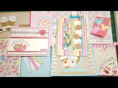 10 cards 1 kit | SSS February 2017 cards kit | ''Coffee , tea and cocoa'' - YouTube