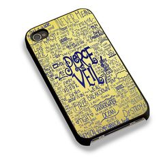 Gold Lyric For iPhone 6 Case