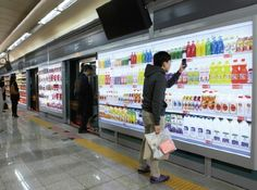 Electronic grocery shopping