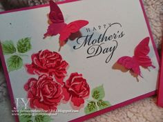Creating in Faith, Hope and Love...: Mother's Day Cards