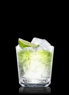 Absolut Vodka Gimlet - Fill a rocks glass with ice cubes. Add all ingredients. Garnish with lime. 2 Parts Absolut Vodka, 1 Part Lime Cordial, 1 Wedge Lime