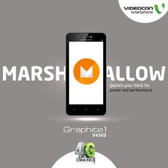 Multitask seamlessly every time with #Videocon Graphite1 V45ED that comes with new android version #marshmallow. To explore visit - http://www.videoconmobiles.com/graphite1v45ed
