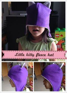 Free Pattern – Little Kitty Fleece Hat » Japanese Sewing, Pattern, Craft Books and Fabrics