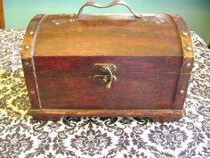 MOD HOME DECOR WOODEN CHEST BOX  #Traditional