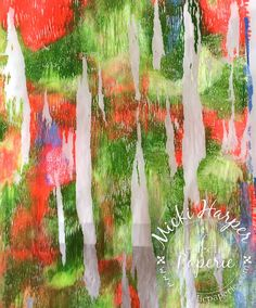 Micki here to share an unexpected result while playing with my Gelli Arts gelli plate yesterday.  Of course having lots of gelli plate prints, I used some in my art journal.  But first, the gelli plate experience.
