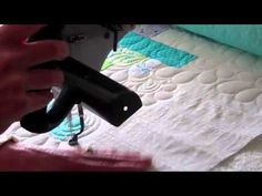 Feathered Clam Free Hand Quilting