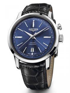 Vulcain | 50s Presidents' Watch Cricket President | Edelstahl | Uhren-Datenbank watchtime.net