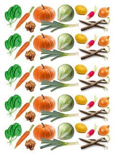 les gommettes légumes