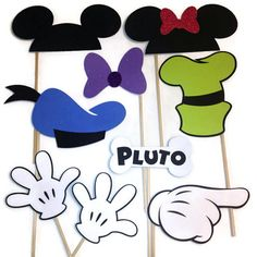 Photo Booth Props - 9 Piece Disney Themed Set on Etsy, $25.00