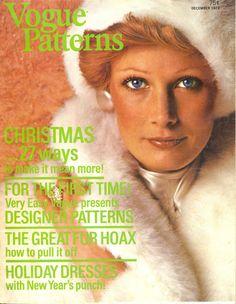 Vogue Patterns Magazine December 1973