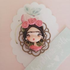 Broche Frida Kahlo/ Frida Kahlo brooch