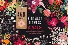 Bloomart Flowers Pack - Illustrations