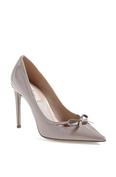 Valentino Bow Pump   Nordstrom @Nora Griffin Tashdjian these have your name written all over them!!