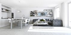 tremendous-white-nuance-apartment-living-room-ideas-with-grey-sofa-set-color-and-dining-white-chair-open-space-interior-design-inviting-apartment-designs-interior-1306x653
