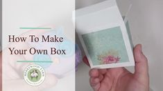 Make Your Own Box | How to wrap odd shaped soaps | Merrywood Farm Soaps