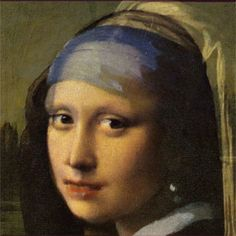 Average of the Mona Lisa and 'Girl with a pearl earring'