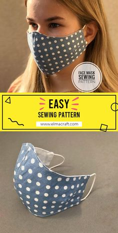 3D Face Mask Template free sewing pattern #FaceMask #FaceMasksewingtpattern #sewing #sewingtpattern