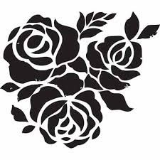 flower stencil printable template - Google Search