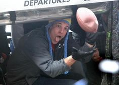 Ha ha! Gronk caught a football (deflated, looks like!!!) Patriots' Parade - Live Blog - The Boston Globe