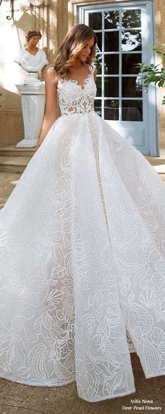 Milla Nova Wedding Dresses 2018 #weddings #dresses #weddingideas #gowns #bridalgowns ❤️ http://www.deerpearlflowers.com/milla-nova-wedding-dresses-2018/