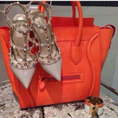 celine cabas tote bag price - orange bags on Pinterest | Orange Bag, Hermes and Orange