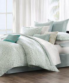 Look what I found on #zulily! Sky White Greek Comforter Set #zulilyfinds