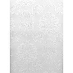437-RD80029 - Brewster 437-RD80029 Anaglypta Vol X Egon Paintable Textured Vinyl Wallpaper in Paintable - GoingDecor