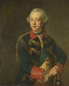 Willem V (1748-1806), prins van Oranje-Nassau, Johann Georg Ziesenis, 1763 - 1776