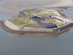Fort Sumter | Charleston, SC one of my favorite places I've been!! Wish I could have had a chance to get Jeremy there!