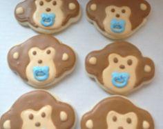 MINI galletas de bebé niña por Just4YouTreats en Etsy