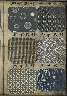 Catalogue of Japanese textile KOMON