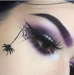 // ramirezpatty69✨ Halloween Diy, Nail Designs For Halloween, Ideas For Halloween Costumes, Halloween Costume Makeup, Haloween Costumes 2017, Spider Halloween Costume, Haloween Ideas, Witch Costumes, Halloween Tattoo