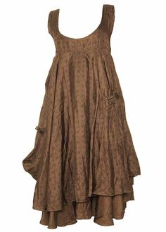 like the narrow yoke Ewa i Walla Vanessa Silk Dress - vanessa - La Vie en Rose - Exclusive ...