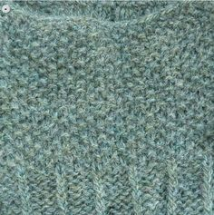 Holst Garn Supersoft 100% uld - sage blue Ravelry: strikkemus' L Æ R K E