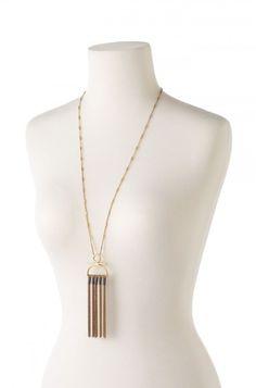 Genevieve Tassel Necklace by Stella & Dot
