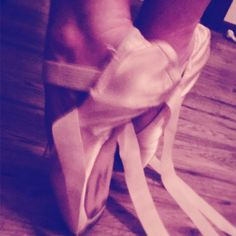#preparing #pointe #ballet #shoes