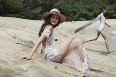 """For Love And Lemons - """"PACIFIC GETAWAY"""" SPRING 2015"""