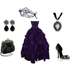 Masquerade - costume idea; always wanted to go to a masquerade ball!