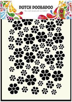 470.715.040 Dutch Mask Art Bloemen White Flower