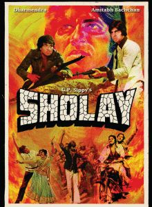 Printed and circulated during the first release of Sholay mid this vintage hand painted Bollywood movie poster was originally designed for publicity of the film but never ended up being used Indian Movies Bollywood, Bollywood Posters, Bollywood Cinema, Vintage Bollywood, Cinema Posters, Movie Posters, Film Streaming Vf, Blockbuster Movies, Imdb Movies