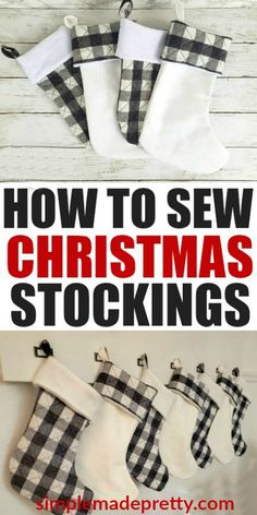 Easy sewing hacks are offered on our web pages. Take a look and you wont be sorry you did. Sewing Hacks, Sewing Tutorials, Sewing Tips, Sewing Crafts, Crafts To Sew, Sewing To Sell, Sewing Art, Quilt Tutorials, Buffalo Plaid Stockings