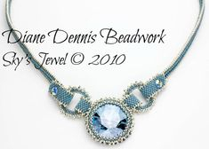 Sky's Jewel Necklace Instant Download Digial Instructions