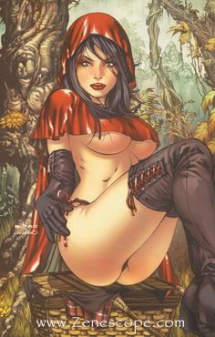 Red Riding Hood | ... : GRIMM FAIRY TALES » grimm-fairy-tales-01-red-riding-hood-goth-ebas